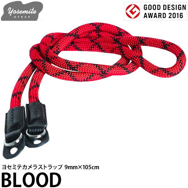 【送料無料】 EXTENDED 30041 YOSEMITE CAMERA STRAP BLOOD 9mm×105cm [ヨセミテ カメラストラップ 9mm径クライミングロープ使用]
