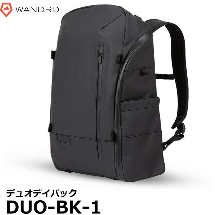 【送料無料】 ワンダード WANDRD DUO-BK-1 デュオデイパック [DUO DAYPACK 一眼 カメラバッグ バックパック リュック] ※欠品:納期未定(2/14現在)