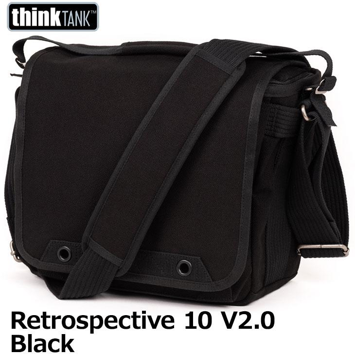 【送料無料】 シンクタンクフォト レトロスペクティブ10 V2.0 ブラック [カメラバッグ 一眼レフ用ショルダーバッグ thinktank photo]