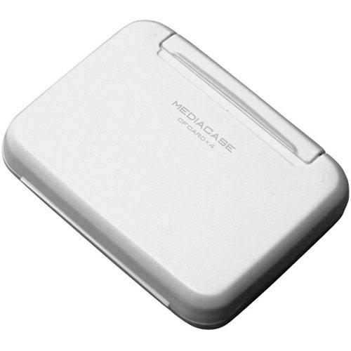 HAKUBA DMC20WCFWT コンパクトフラッシュ 4枚収納可能 メモリーケース 初売り メール便 送料無料 W 即納 ポータブルメディアケース 送料無料激安祭 ホワイト CFカード用 ハクバ DMC-20WCFWT