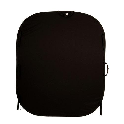 【送料無料】【メーカー直送品/代金引換・同梱不可】 Lastolite LL LB6701 折り畳み式プレーンリバーシブル背景(1.8×2.15m):ブラック/ホワイト トレーン付 ※欠品:ご注文後、約3ヶ月かかります