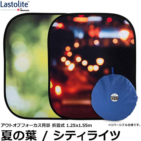 【送料無料】 Lastolite LL LB5730 アウトオブフォーカス背景 折畳式 1.25×1.55m 夏の葉/シティライツ [ラストライト/ポートレート撮影用バックグラウンド]
