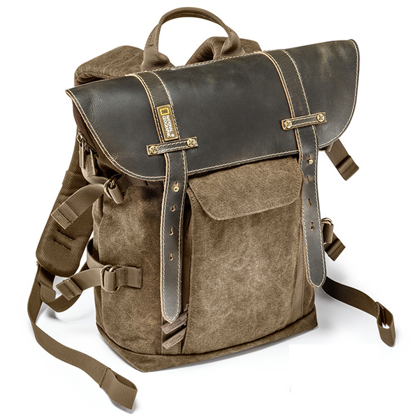 Leather Camera Backpack | Crazy Backpacks