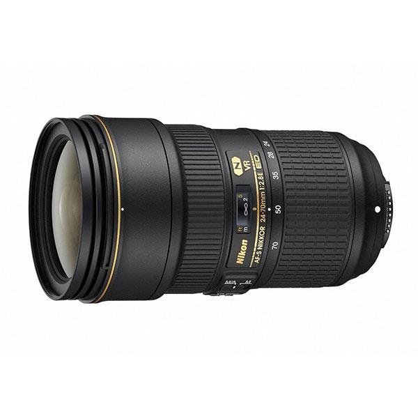 【送料無料】 ニコン AF-S NIKKOR 24-70mm f/2.8E ED VR [高性能大口径標準ズームレンズ/Fマウント/Nikon]