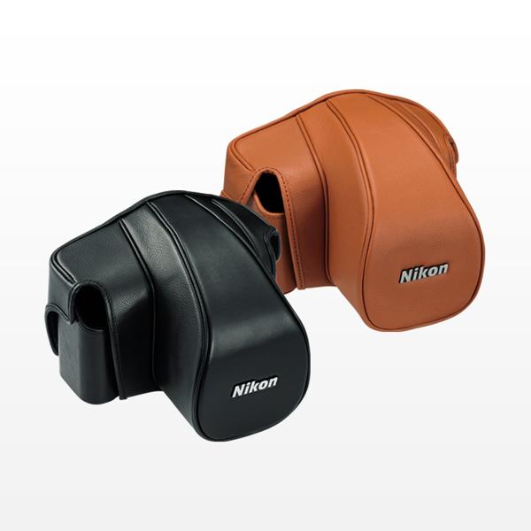 ニコン CF-DC6 セミソフトケース ブラウン [Nikon Df 50mm f/1.8G Special Editionキット対応]