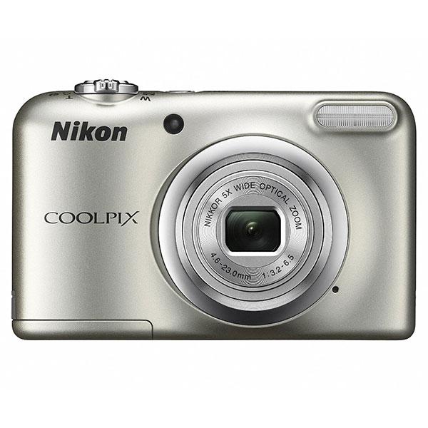 【送料無料】 ニコン COOLPIX A10 シルバー [1614万画素/光学5倍ズーム/2.7インチ液晶モニター/単3形電池使用/クールピクスA10/デジタルカメラ/Nikon]