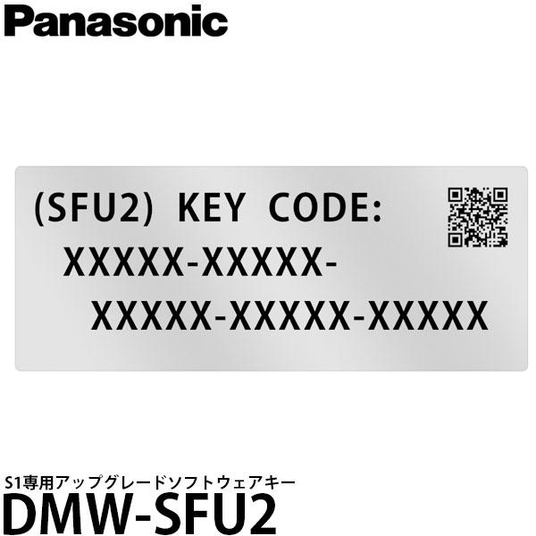 LUMIX「DC-S1」専用のアップグレードソフトウェアキー 【メール便 送料無料】 パナソニック DMW-SFU2 S1専用アップグレードソフトウェアキー