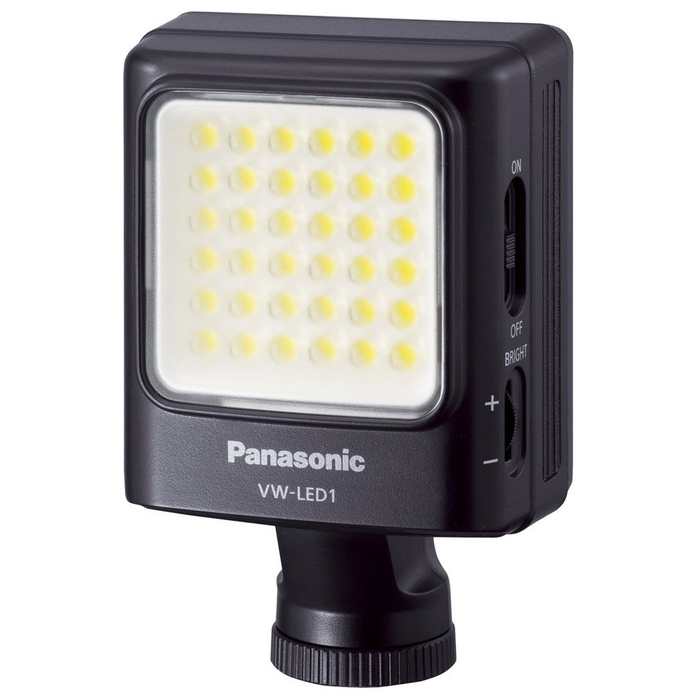 【送料無料】 パナソニック VW-LED1-K LEDビデオライト [LED36灯/最大約1500lx/色温度5000K/単3形電池駆動/VWLED1K]