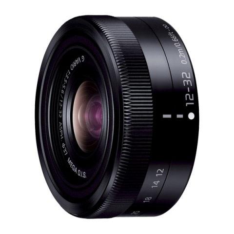 【送料無料】 パナソニック H-FS12032-K LUMIX G VARIO 12-32mm F3.5-5.6 ASPH./MEGA O.I.S. ブラック