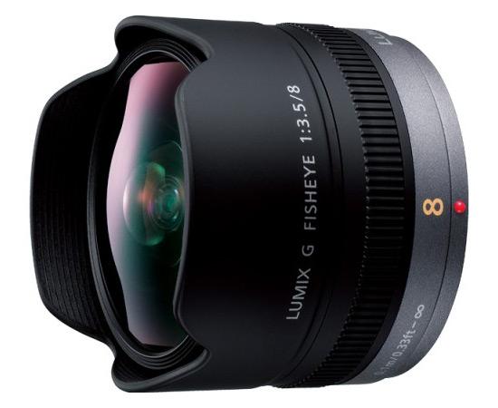 【送料無料】 パナソニック H-F008 LUMIX G FISHEYE 8mm/F3.5