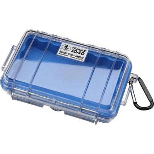 お求めやすく価格改定 ペリカン 防水性 頑丈な構造 小型電子機器を保護します 爆売り 送料無料 小型防水ハードケース PELICAN 1040HK ブルー クリア