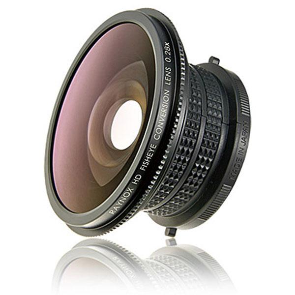 【送料無料】【あす楽対応】【即納】 レイノックス HDP-2800ES 高品位フィッシュアイ(対角魚眼)コンバージョンレンズ 0.28倍