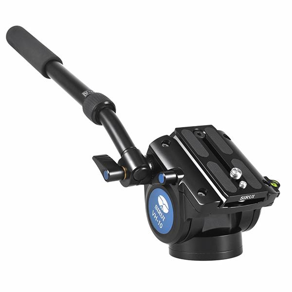 【送料無料】 SIRUI VH-10 ビデオ雲台 [シルイ 2ウェイフルード雲台/カウンターバランス2kg/耐荷重6kg/重量0.9kg/フラットベース]