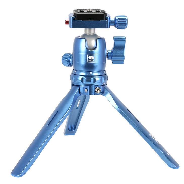 【送料無料】 SIRUI 3T-15B 超小型テーブル三脚 ブルー [シルイ 3Tシリーズ アルカスイス互換]