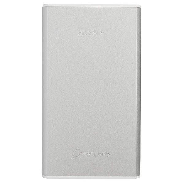 【送料無料】 ソニー CP-S15AS モバイルバッテリー 15000mAh シルバー [PSE適合品/出力2ポート搭載アルミボディ/CPS15AS/SONY]