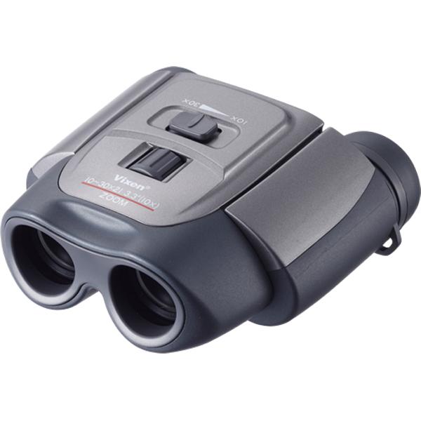 【送料無料】ビクセン コンパクトズーム双眼鏡 MZ 10-30×21 [5年間保証/ケース・ストラップ・ビノホルダー付]