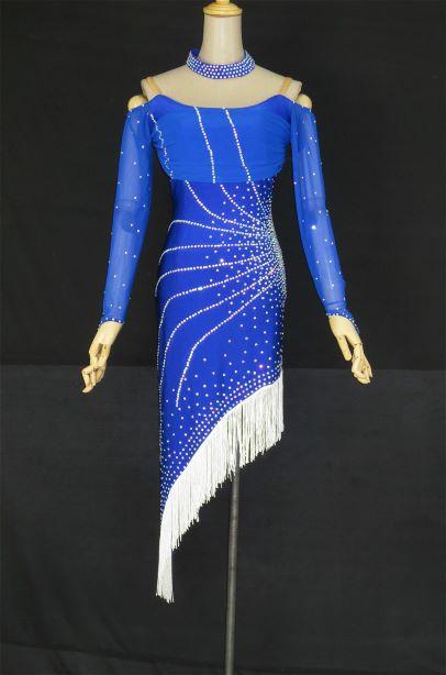 d1eec477b5cc2 社交ダンス 社交ダンスドレス 競技用ドレス ダンス衣装 ステージ衣装 ...