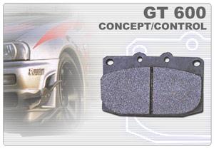 車種B:制動屋フロント用ブレーキパッド GT600 【送料別途・F/Rセットで送料無料】