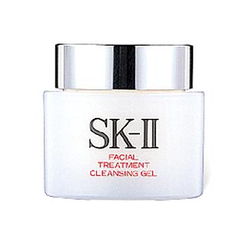 SK-II SK-2フェイシャルトリートメントクレンジングジェル(100g)と クレンザー(120g) ふきとり化粧水のセット!お得価格セットを、お買い得に!!美肌作り基礎セット♪高保湿マスク1枚プレゼント!!