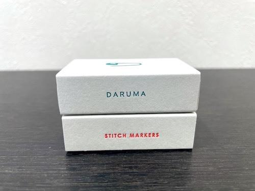 段数を数えたり、編み目の増減、編み方の変わるポイントの目印に便利なステッチマーカー DARUMAステッチマーカー