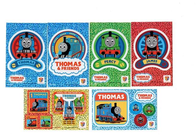 THOMAS Sticker SET ☆USA直輸入品 ☆ 新着セール トーマスステッカー6枚セット 贈答 送料無料