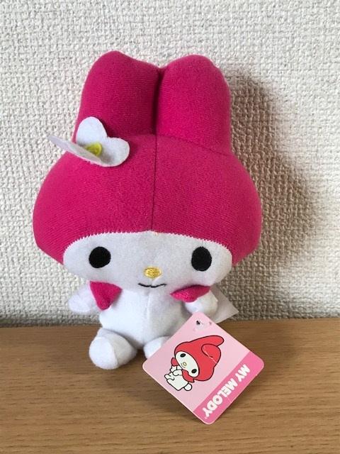 MY MELODY Plush doll ☆USA直輸入品 在庫処分品50%OFF 売買 マイメロディ ぬいぐるみ ☆ 人気ブランド