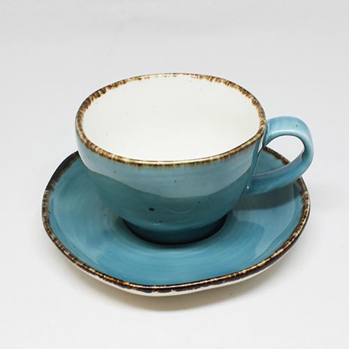 10%OFF 9 19 20:00 ~ 27 9:59 人気 フリッシュ 9cm カップソーサー ブルー業務用 業務用食器 レストラン 和カフェ コーヒー フレンチ 紅茶 ホテル 店舗 カフェ スープ ティー イタリアン デザート