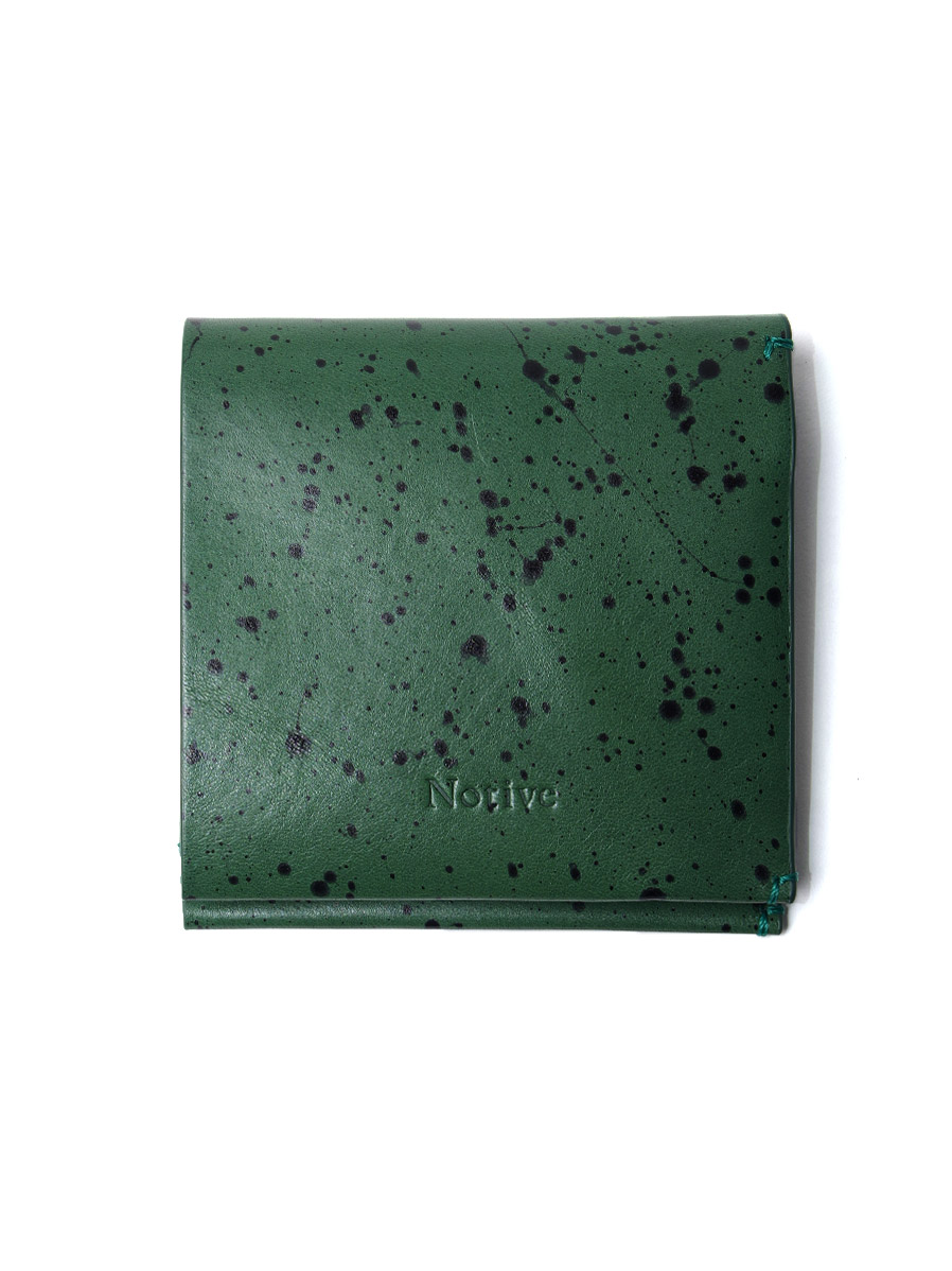 Notive | ノーティヴ // SHORT WALLET NJWF-08 <レザーウォレット 財布> - GREEN
