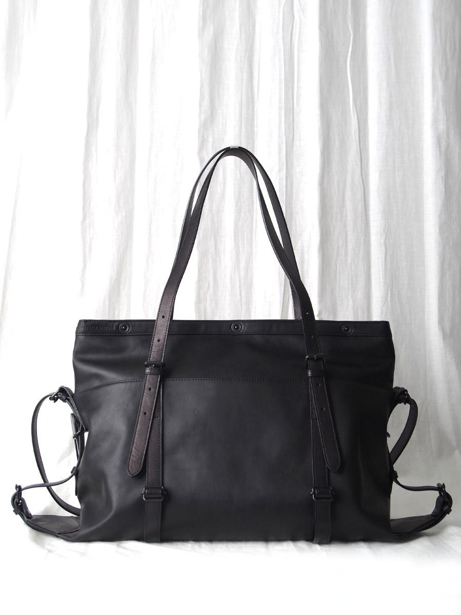 送料無料 予約販売 返品可 メンズ レザーバッグ カバン 返品OK 最短即日出荷で東京のセレクトショップより直接お届け++ PATRICK bag Leather 'atelier' お得セット M2 パトリックステファン バッグ #204ABG02 STEPHAN