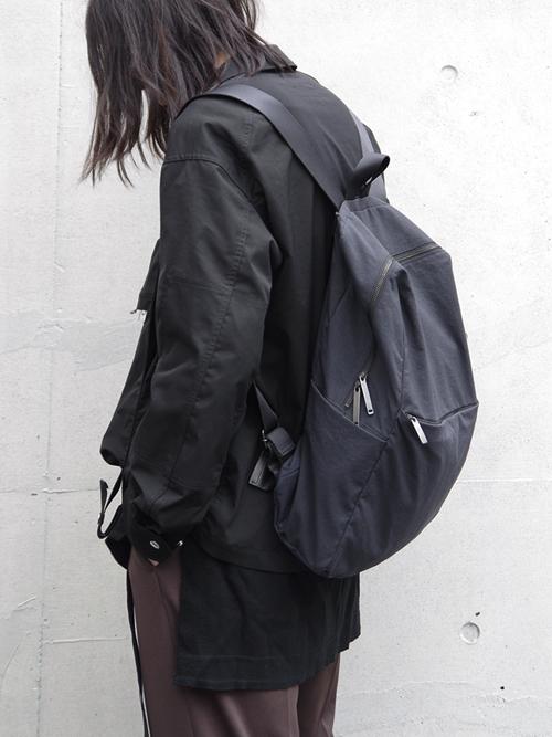 PATRICK STEPHAN | パトリックステファン // Fabric backpack 'tofu' #184ABG01 <バックパック/リュック>