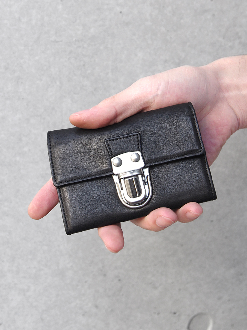 PATRICK STEPHAN | パトリックステファン // Leather card case 'cartable' #161AAO10 <カードケース>