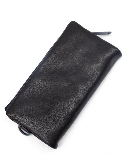 PATRICK STEPHAN   パトリックステファン // Leather long wallet 'minimal' shine #112AWA33 <レザーウォレット/長財布>