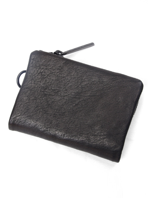 PATRICK STEPHAN | パトリックステファン // Leather micro wallet 'minimal'shine #112AWA34 <レザーウォレット/二つ折り財布>