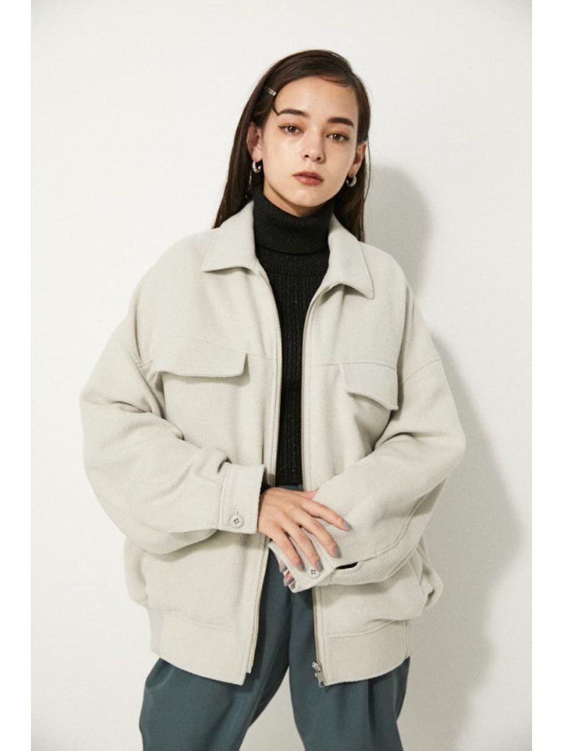 LAGUA GEM レディース コート ジャケット ラグア ジェム Rakuten Fashion 海外限定 ホワイト グリーン JK 送料無料 BRUSHED ブラック OVER ブルゾン 本店