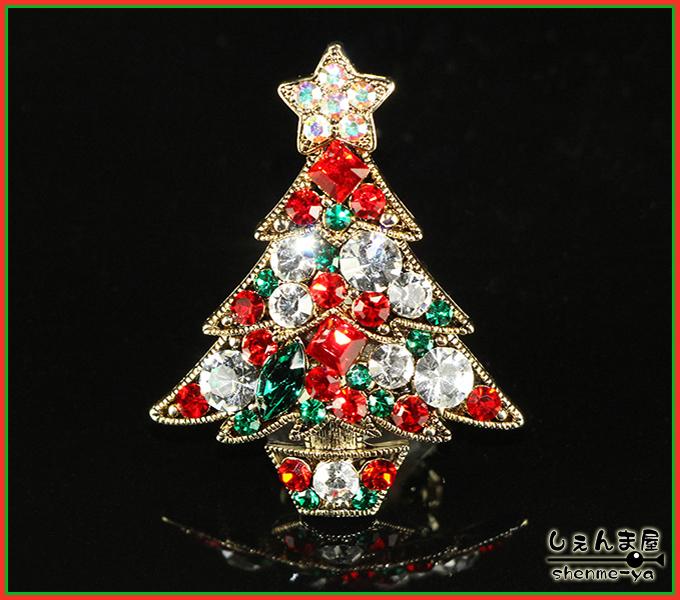 クリスマスムードを一層引き立てそう o○ とっても綺麗 超特価SALE開催 キラキラツリー 帯留め 春の新作 クリスマス
