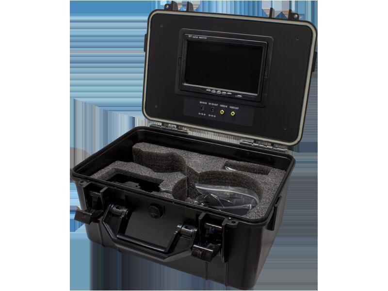 録画機能搭載ポータブル7インチモニター内蔵ケースWTW-LB9D