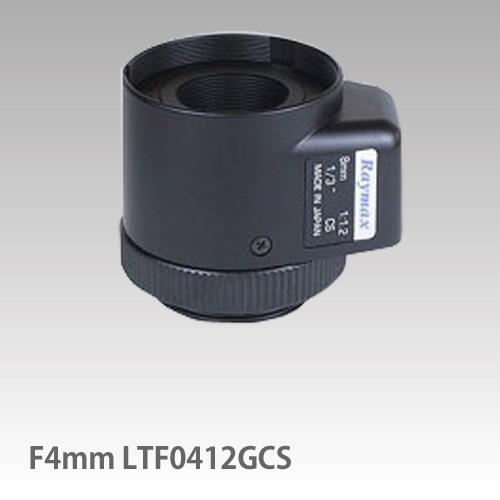 単焦点 レンズ (RAYMAX) オートアイリス /F4mm LTF0412GCS