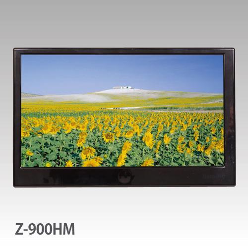 【送料無料 】HDMI 入力対応 9インチ TFT ワイドモニター オンダッシュ用スタンド 標準 装備Z-900HM-USB