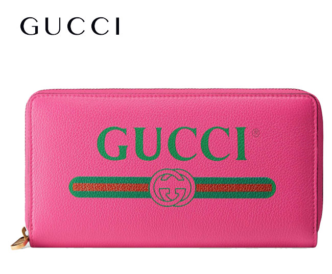 1cdef7643 ☆Long wallet with ☆ Gucci print leather zip around wallet GUCCI LEATHER ZIP  AROUND WALLET GG round fastener coin purse discounted by 5