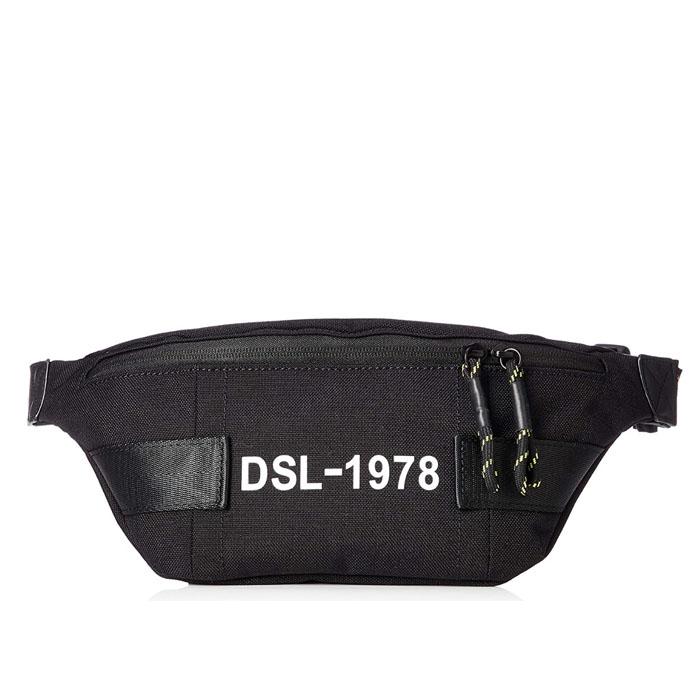 ディーゼル バック DIESEL FELTRE BELTBAGディーゼル コーデュラナイロン ベルトバッグ1978 ボディバッグ 値下げ ウエストバッグX06338 P1516 ブラック BLACK トラスト T8013