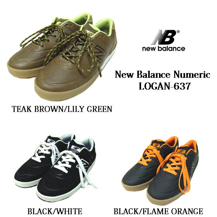 NEW BALANCE NUMERIC LOGAN637ニューバランス ヌメリック ローガンメンズスニーカースケートボード、スケボー