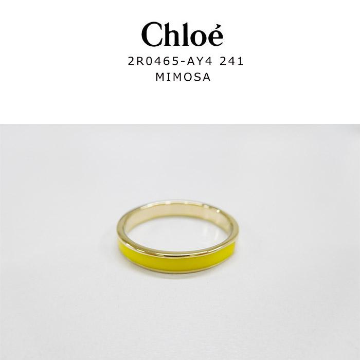 Chloe送料無料 ラッピング無料 Chloe クロエ アクセサリー リング 指輪 ライン 13号 安心の実績 高価 アウトレット 買取 強化中 レディース 52 ゴールド かわいい タグあり2R0465AY424142881 MIMOZA ミモザ