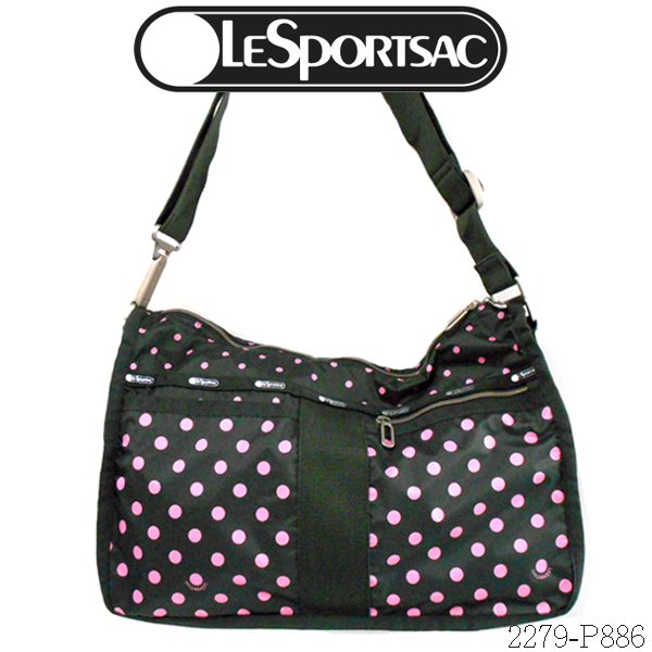 Shes Z Lesportsac Everyday Bag 2279 P886less Port Case Dot Pattern Of The Shoulder Essential Sun Multi Graval C Dark Gray Pink
