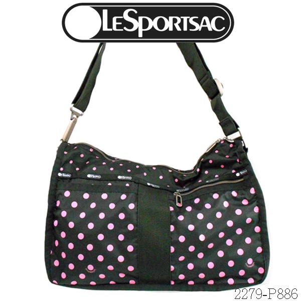Lesportsac Essential Everyday Bag 2279 P886less Port Case Dot Pattern Of The Shoulder Sun Multi Graval C Dark
