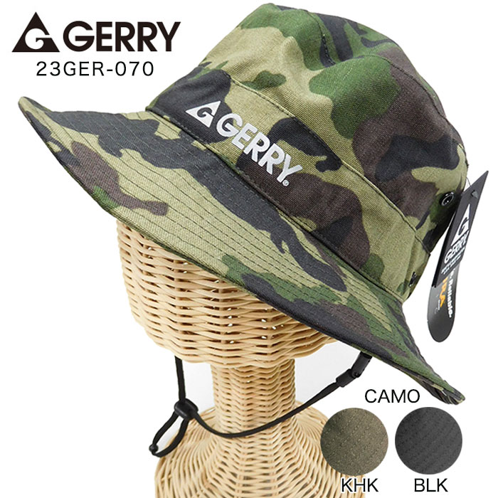 ゆうパケットで送料無料 GERRY ジェリー 23GER-70 CORDURAナイロンアドベンチャー メンズ かわいい帽子 レディース ふるさと割 デザイン ハット 有名な