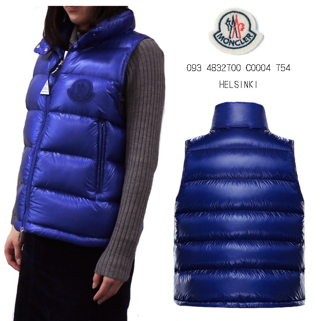 5382471d0 ★The new work ★ Monk rail light weight thin down vest MONCLER WOMENS  HELSINKI mon clay Lady's best of the spring of 2019