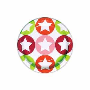 ピクニック ガーランド フラッグ ホームパーティー キャンプ 雑貨 誕生日会 バースデー ランチョンマット 大きい為 紙皿 予約販売品 パーティー 日本メーカー新品 ドットスター 紙コップ メール便は不可です ペーパープレート ピンク 6枚入り
