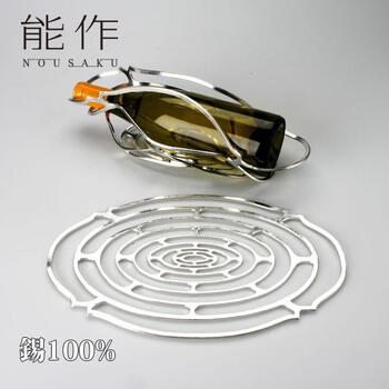 能作 かご「KAGO - オーバル - L」錫100%【能作 501418】