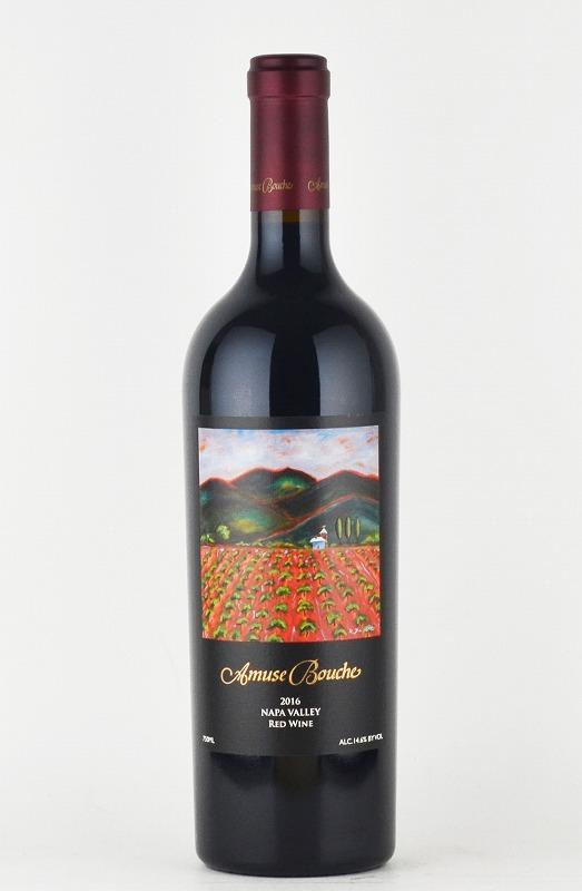 アミューズ・ブーシュ レッドワイン ナパヴァレー[2016][カリフォルニアワイン][ナパバレー][赤ワイン]