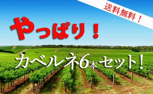 【送料無料!】やっぱり!カベルネセット! ワインセット ワイン